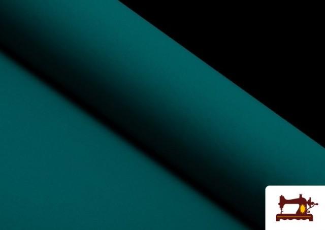 Tela Plana Stretch Economica Multicolor, Negro, Blanco +16 Colores color Verde Petróleo