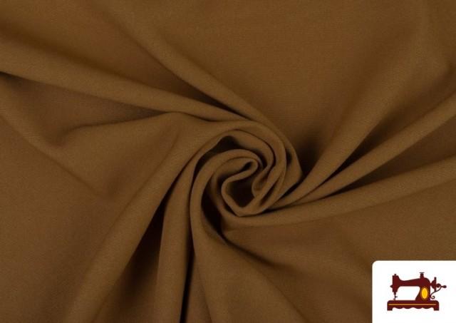 Comprar online Tela Plana Stretch Economica Multicolor, Negro, Blanco +16 Colores color Tostado