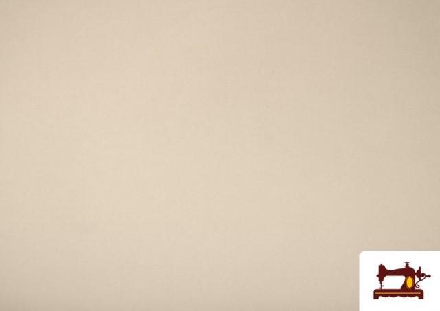 Venta online de Tela Plana Stretch Economica Multicolor, Negro, Blanco +16 Colores color Crudo