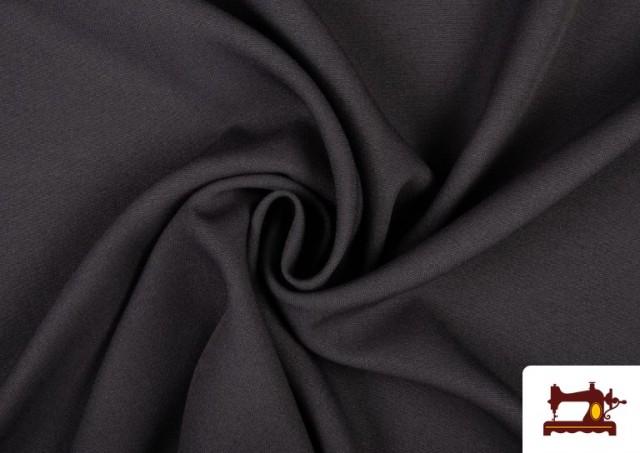 Comprar Tela Plana Stretch Economica Multicolor, Negro, Blanco +16 Colores color Gris