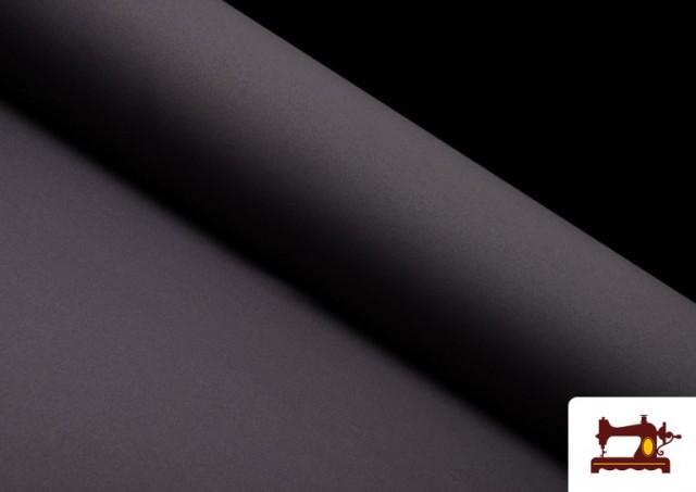 Venta de Tela Plana Stretch Economica Multicolor, Negro, Blanco +16 Colores color Gris