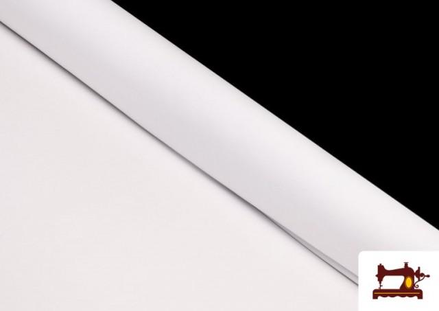 Comprar online Tela Plana Stretch Economica Multicolor, Negro, Blanco +16 Colores color Blanco