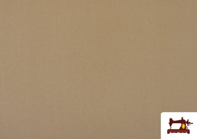 Venta online de Tela Plana Stretch Economica Multicolor, Negro, Blanco +16 Colores color Arena