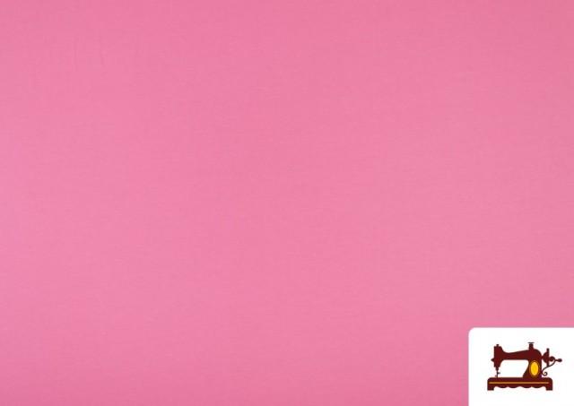 Tela Plana Stretch Economica Multicolor, Negro, Blanco +16 Colores color Rosa
