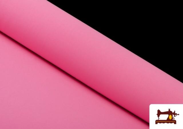 Venta de Tela Plana Stretch Economica Multicolor, Negro, Blanco +16 Colores color Rosa