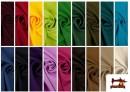 Comprar online Tela Plana Stretch Economica Multicolor, Negro, Blanco +16 Colores