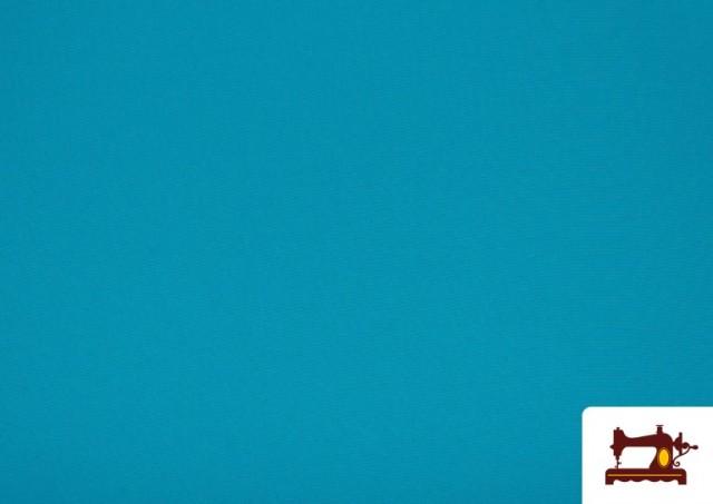 Venta online de Tela Plana Stretch Economica Multicolor, Negro, Blanco +16 Colores color Azul turquesa