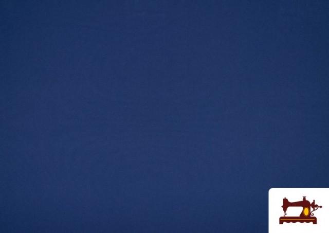 Comprar Tela Plana Stretch Economica Multicolor, Negro, Blanco +16 Colores color Azul azafata