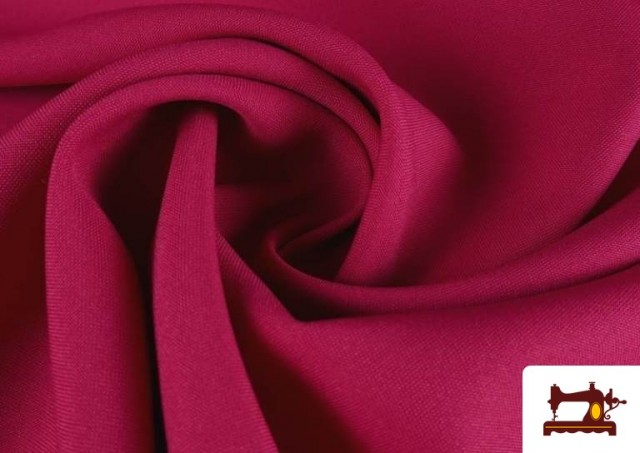 Comprar Tela Plana Stretch Economica Multicolor, Negro, Blanco +16 Colores color Fucsia