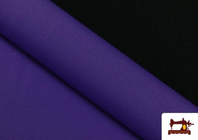Comprar online Tela Plana Stretch Economica Multicolor, Negro, Blanco +16 Colores color Lila