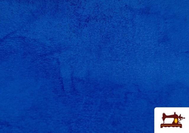 Venta online de Tela de Coralina de Colores color Azulón