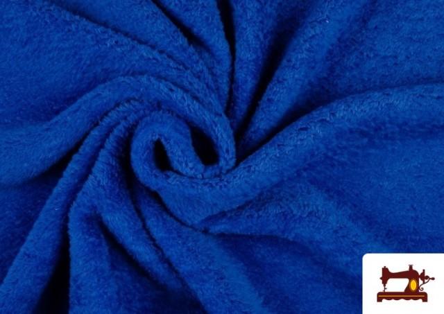 Tela de Coralina de Colores color Azulón