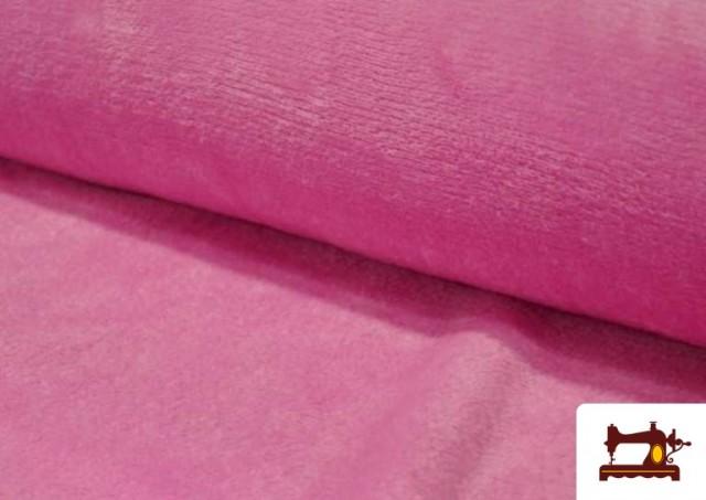 Tela de Coralina de Colores color Rosa pálido