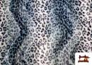 Comprar Tela de Leopardo para Disfraces y para Tapizar color Gris
