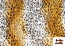 Venta online de Tela de Leopardo para Disfraces y para Tapizar color Tostado