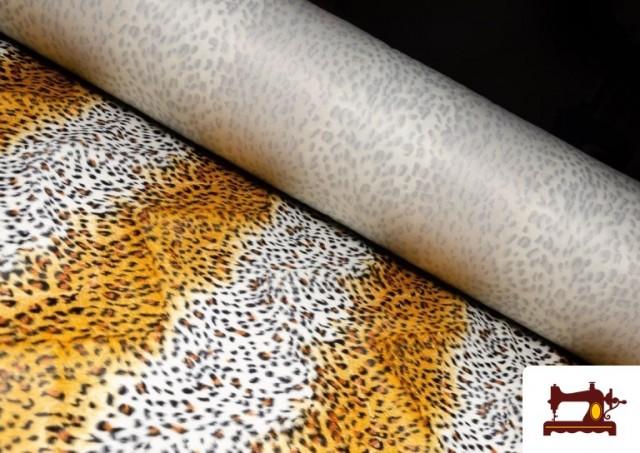 Comprar Tela de Leopardo para Disfraces y para Tapizar color Tostado