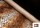 Venta online de Tela de Leopardo para Disfraces y para Tapizar color Marrón