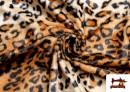 Comprar Tela de Leopardo para Disfraces y para Tapizar color Marrón