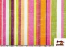 Comprar online Telas de Rayas Anchas para Decoración Multicolor