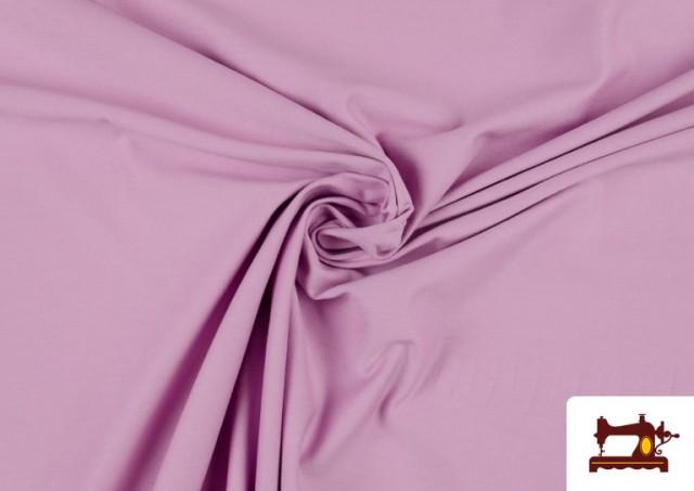 Venta de Tela de Punto de Camiseta de Colores color Malva