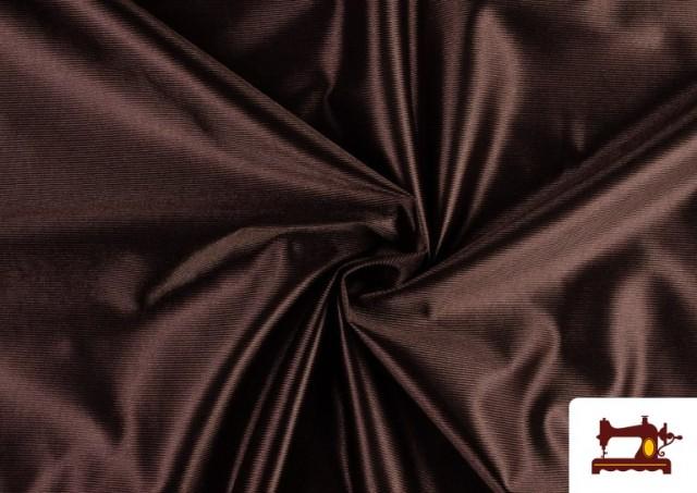 Tela Rasete / Ketten Blanca, Negra + 18 Colores color Marrón