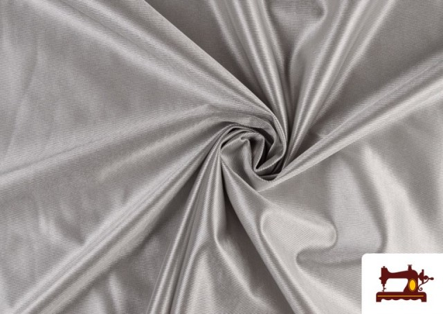 Comprar Tela Rasete / Ketten Blanca, Negra + 18 Colores color Plata