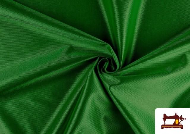 Tela Rasete / Ketten Blanca, Negra + 18 Colores color Verde