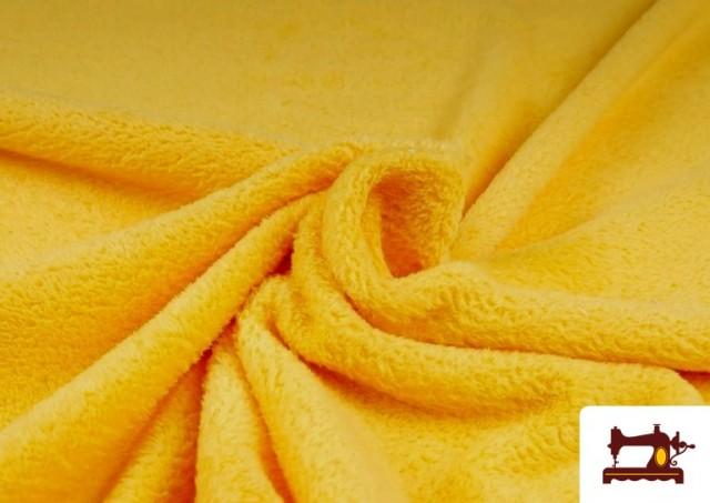 Venta de Tela de Coralina de Colores color Amarillo