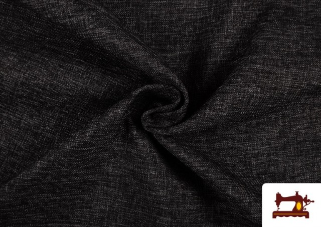 Venta online de Tela de Tapicería Tejida Bicolor Seízal color Gris oscuro