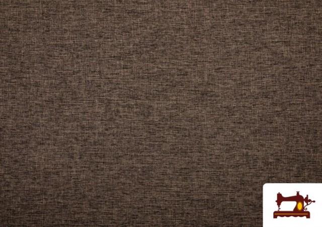 Venta online de Tela de Tapicería Tejida Bicolor Seízal color Marrón