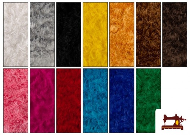 Comprar Tela de Pelo Largo de Colores