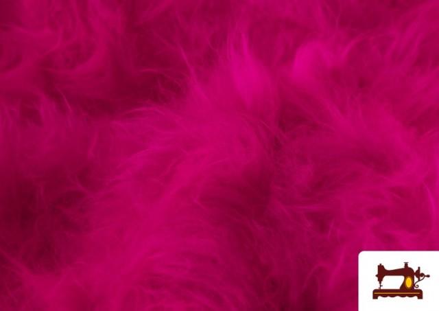 Venta de Tela de Pelo Largo de Colores color Fucsia