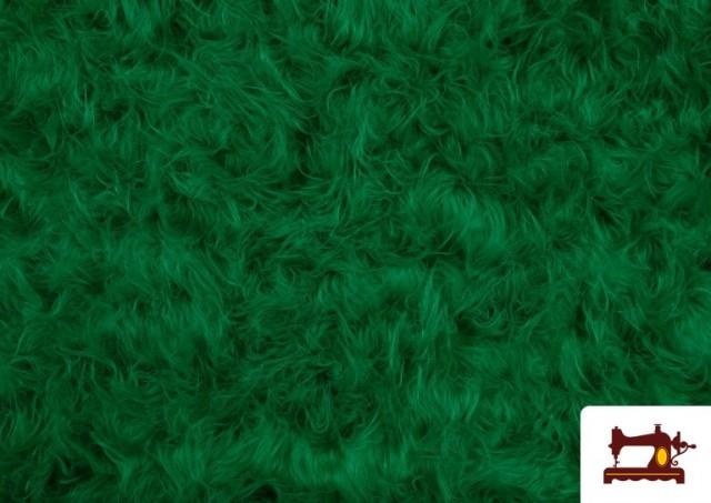 Comprar Tela de Pelo Largo de Colores color Verde