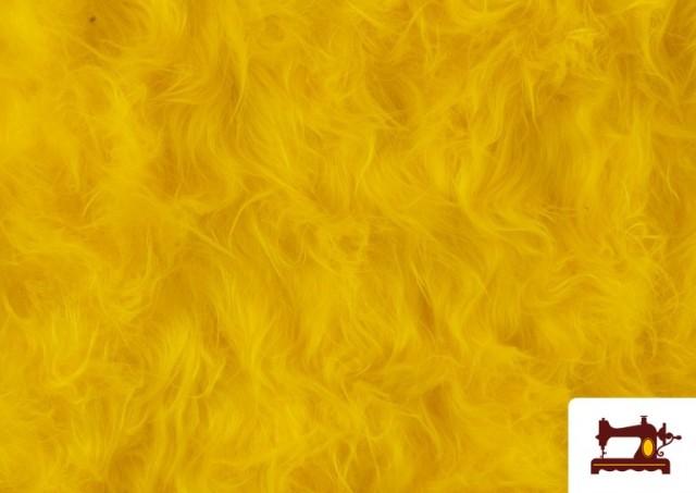 Comprar Tela de Pelo Largo de Colores color Amarillo