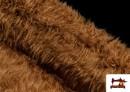 Comprar Tela de Pelo Marron Largo para Disfraz de Animal color Marrón
