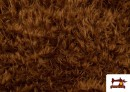Venta de Tela de Pelo Marron Largo para Disfraz de Animal color Marrón
