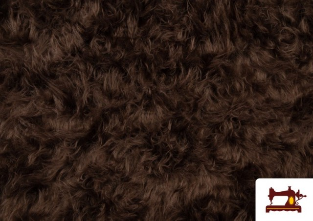 Comprar Tela de Pelo Marron Largo para Disfraz de Animal color Tostado