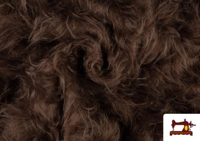 Comprar online Tela de Pelo Marron Largo para Disfraz de Animal color Tostado