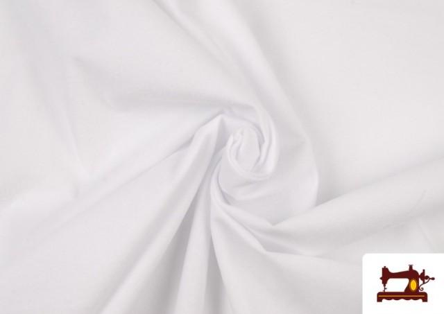 Comprar online Tela de Antelina de Colores color Blanco