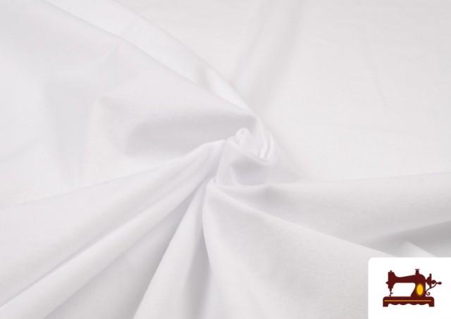 Venta online de Tela de Antelina de Colores color Blanco