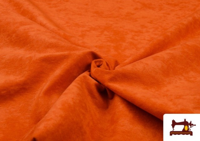 Venta de Tela de Antelina de Colores color Naranja