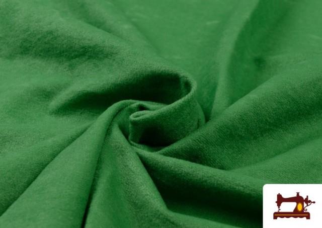 Comprar Tela de Antelina de Colores color Verde