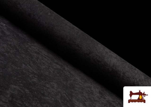 Venta de Tela de Antelina de Colores color Negro