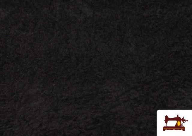 Venta online de Tela de Antelina de Colores color Negro