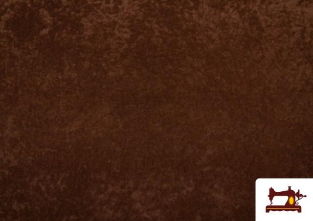 Venta de Tela de Antelina de Colores color Marrón
