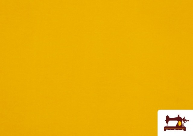 Tela de Antelina de Colores color Amarillo