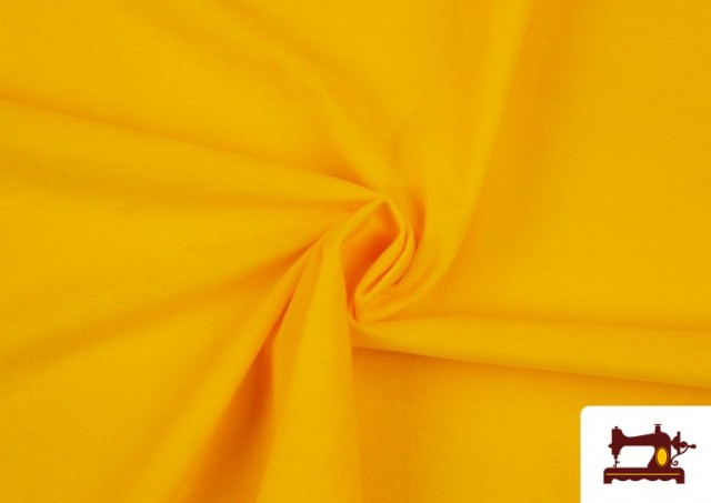 Comprar Tela de Antelina de Colores color Amarillo