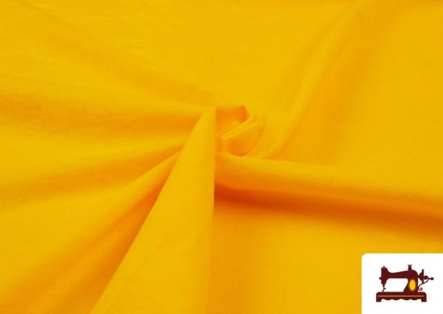 Venta de Tela de Antelina de Colores color Amarillo