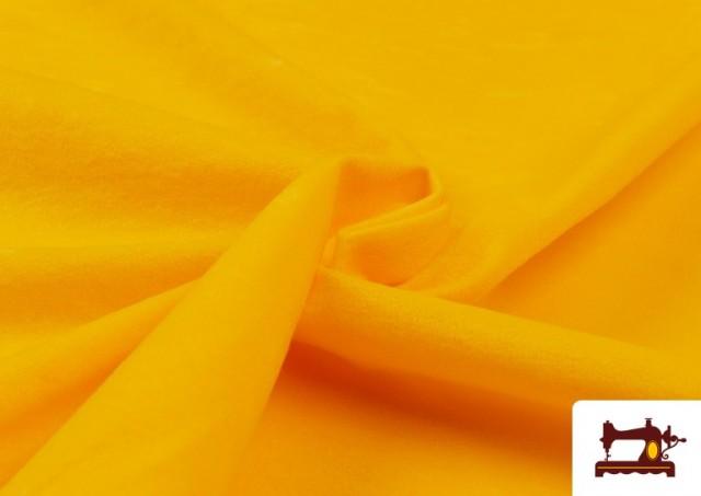 Comprar online Tela de Antelina de Colores color Amarillo