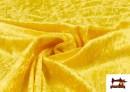 Tela de Terciopelo Económico Martele color Amarillo